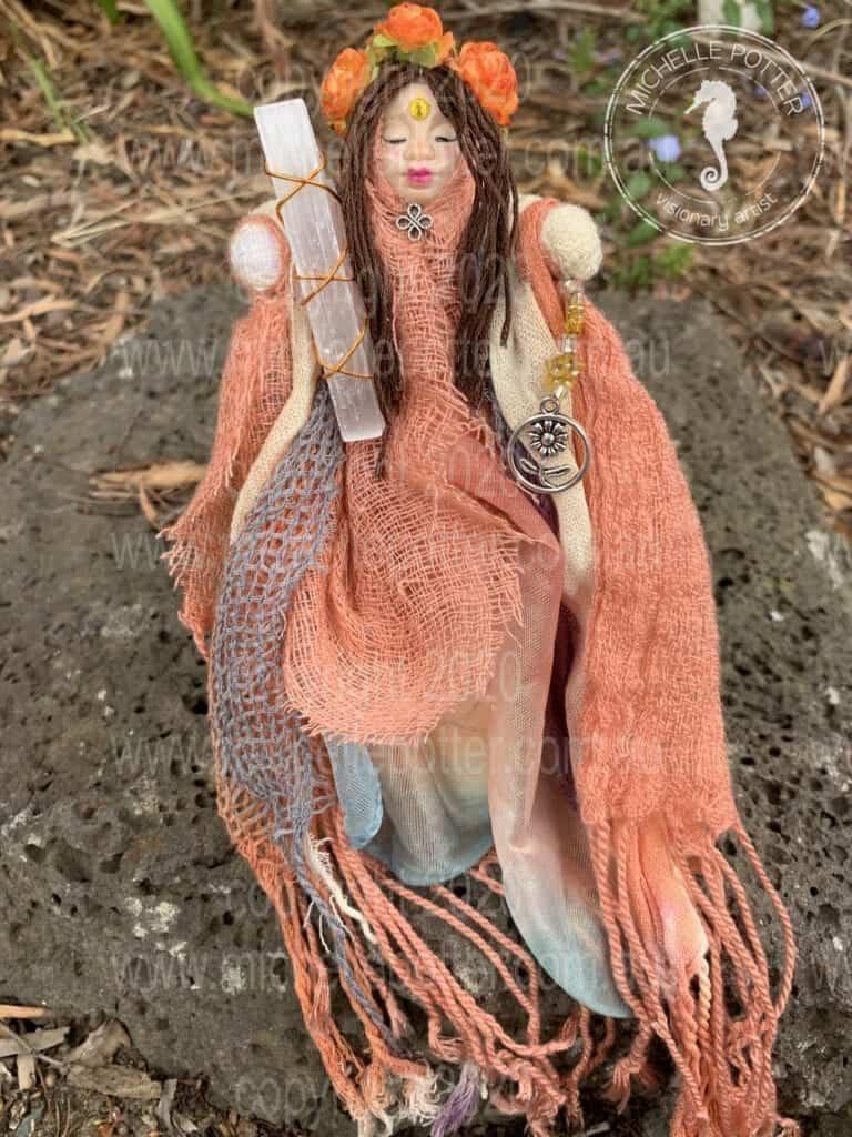 Spirit doll Born 23_04_2019 Michelle Potter Artist