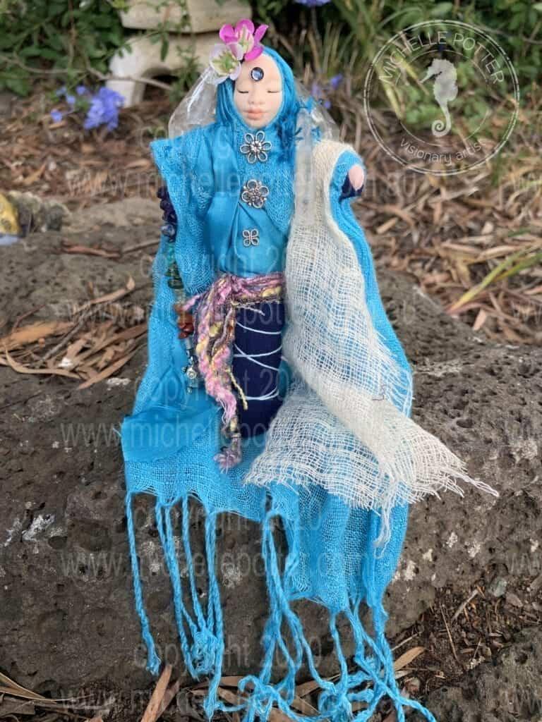 Spirit doll Born 23_3_2019 Michelle Potter Artist