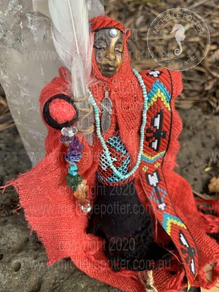 Spirit doll Born 25_3_2019 Michelle Potter Artist