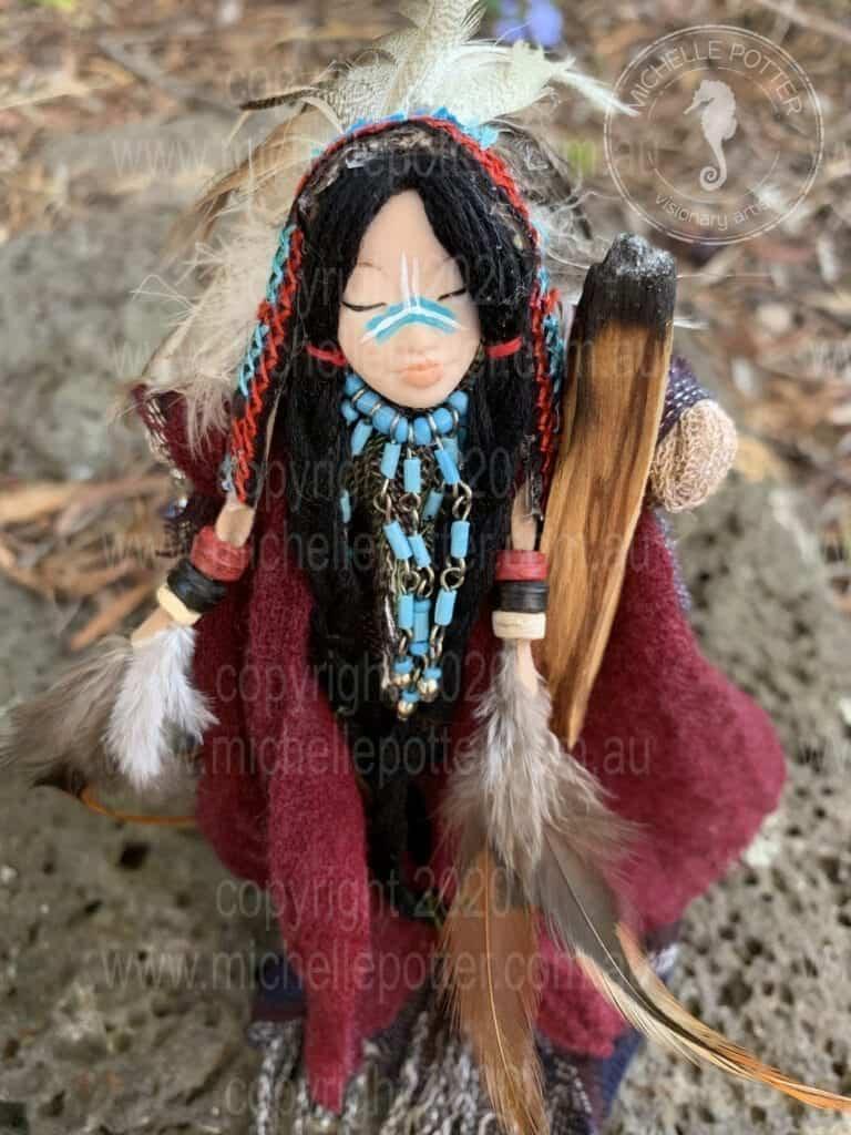 Spirit doll Born 30_04_2019 Michelle Potter Artist