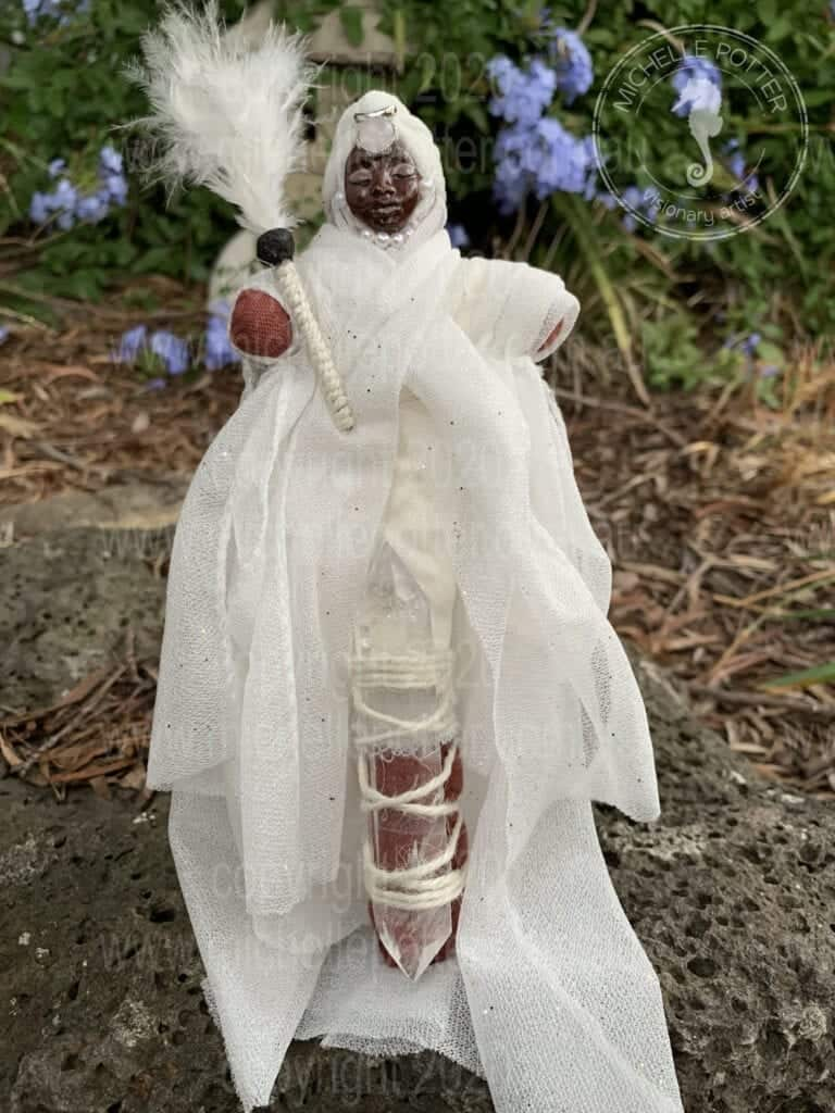 Spirit doll Lightworker Sharman Born 14_05_2019 Michelle Potter Artist